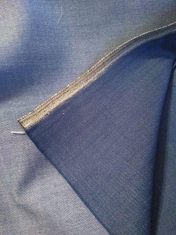 Відріз тканини джинсової