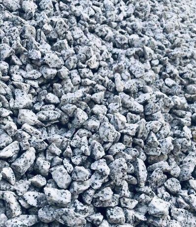 Grys ozdobny ogrodowy granit stalowy