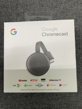 Chromecast Novos varias unidades disponiveis