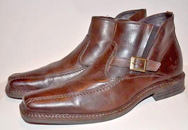 Ботинки кожанные мужские