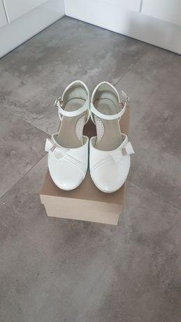 Buty komunijne roz 37 dł.23cm