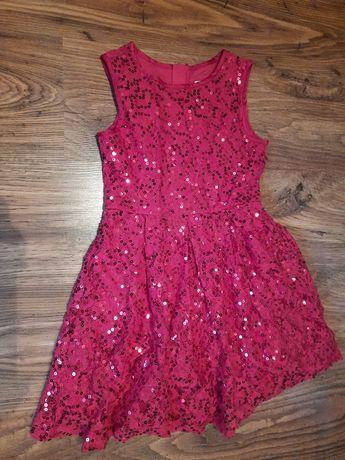Sukienka dla dziewczynki rozmiar 134