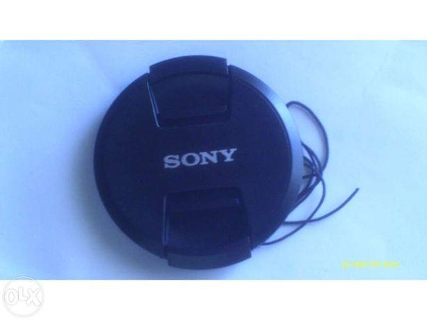 Tampas frontais Snap On de lentes Canon Nikon Sony novas