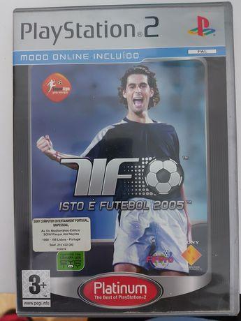 Jogo Isto é Futebol 2005 Ps2