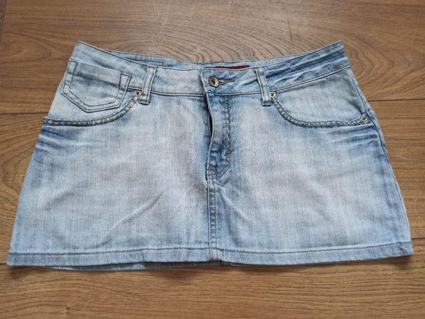Spódnica damska dżinsowa jeansowa mini