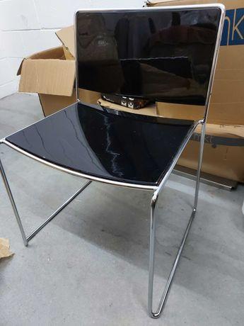Cadeira Spindle - Preto Espelhado