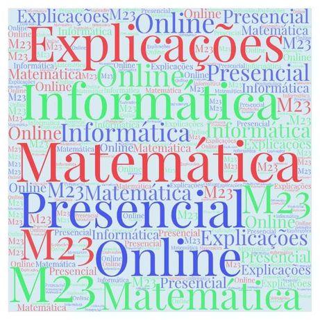 Explicações de Matemática e Informática, Setúbal