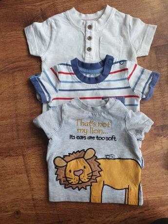 Zestaw bluzek chłopięcych