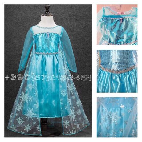 В наличии!Роскошное платье,карнавальный костюм Эльзы/Холодное сердце.