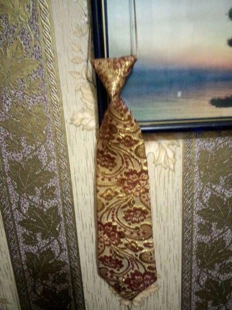 Вінтажний колeкційний галстук