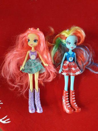 Equestria girls lalki Rainbow Dash Fluttershy