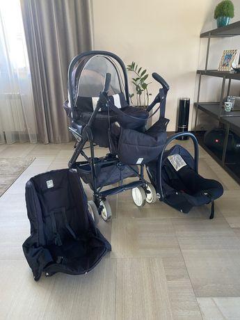Детская коляска 3в1 Италия cam. Б/У