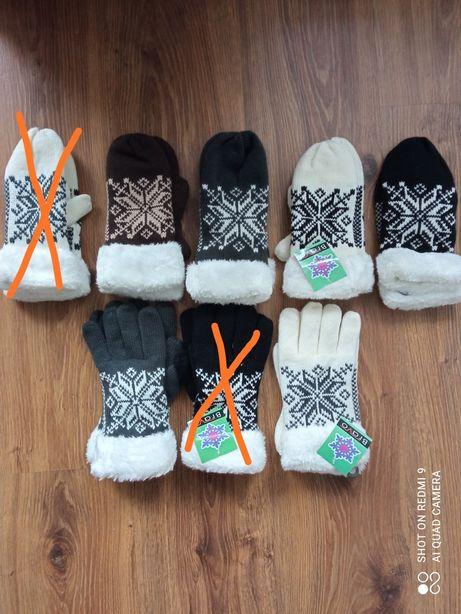 Damskie rękawiczki, ostatnie pary