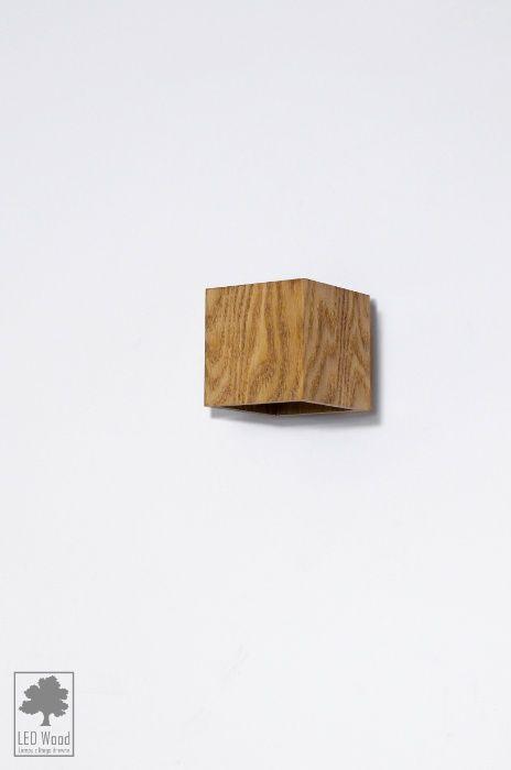 Kinket z drewna - DĄB - 10x10x10 cm Kraków - image 1