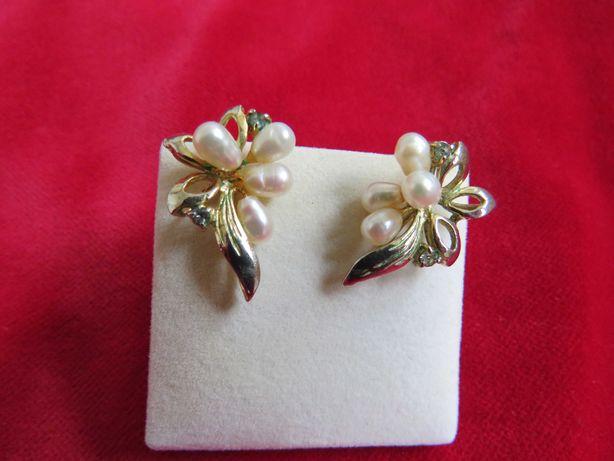 Stare kolczyki - perły