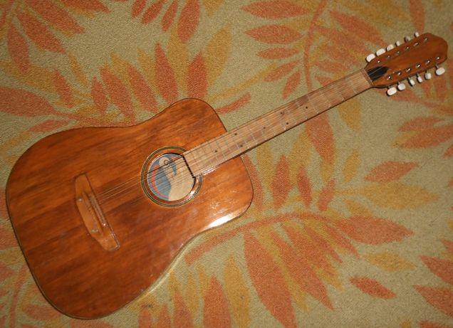 Продам гитару, 12 струнная Львов, Трембита