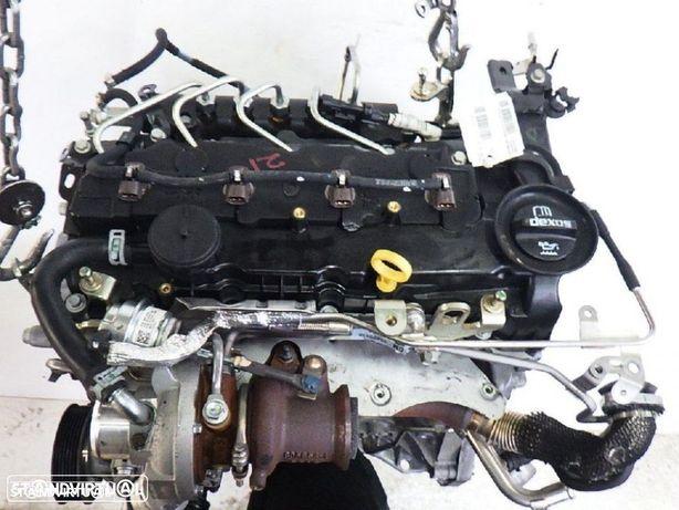Motor Opel Astra J 1.6cdti de 2012 Ref: B16DTU