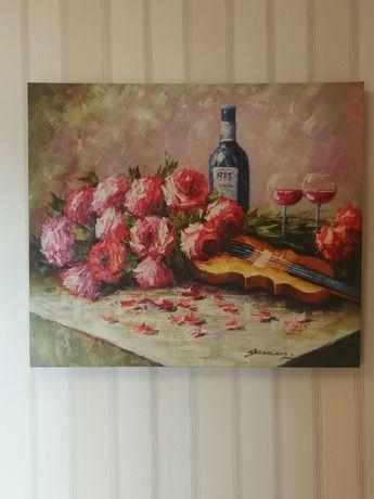Obraz ręcznie malowany na płótnie