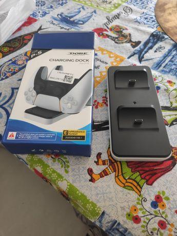 Carregador comando PlayStation 5 game pads USB C