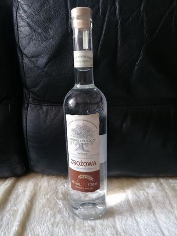 Butelka szklana 1750 ml + torba