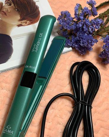 Щипці для вирівнювання волосся G.A.M.A +іонізація Attiva 3D Therapy