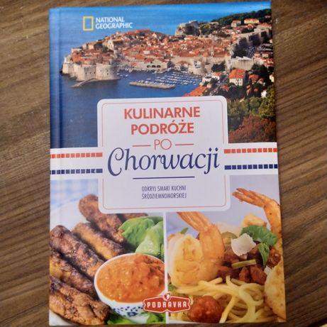 Nowa książka kulinarne podróże po Chorwacji przewodnik