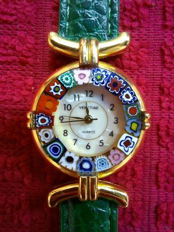 Итальянские часы Venetiae murano glass