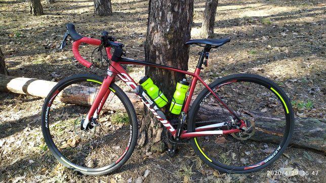 Schwinn Fastback AL Disc Sora 2019 вело шоссейный гравийный циклокросс