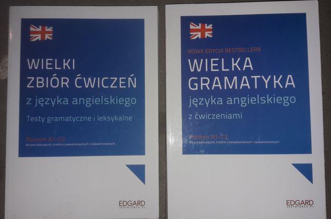 NOWE Wielka gramatyka języka angielskiego + zbiór ćw + gratis testy