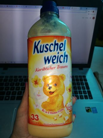 Płyn do płukania Kuschel weich Karibischer Traum 990 ml