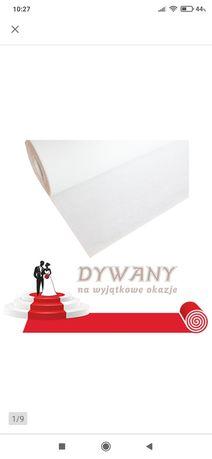 Chodnik,dywan na ślub, biały
