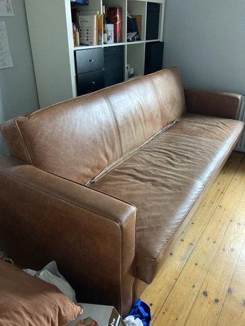 Skórzana kanapa Vintage
