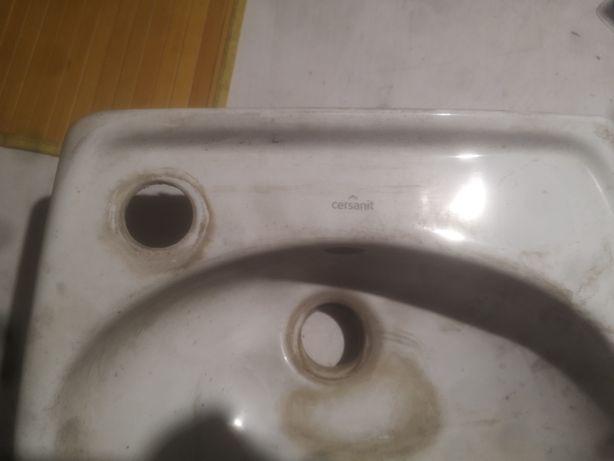 Zlew, umywalka Cersanit ceramiczny 300x350 mm