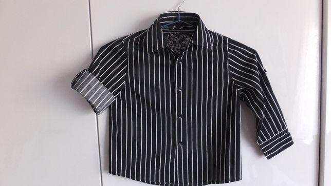Рубашка NEXT Англия с регулируемыми рукавами р.92 на 3 года