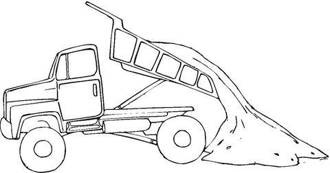 Usługi transportowe mini wywrotka