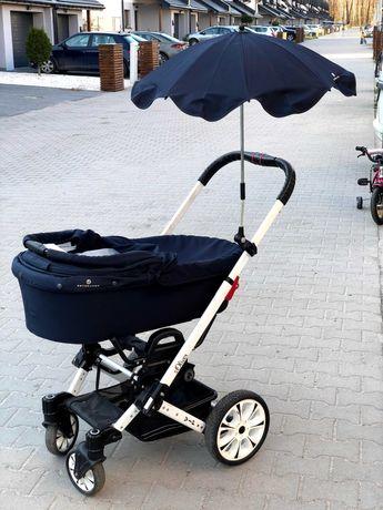 Wózek Hartan VIP - gondola, spacerówka, nosidełko, parasol, torba