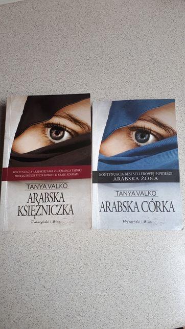 Książki część 2 i 4. Arabska córka i Arabska Żona ,autorki Tanya Valko
