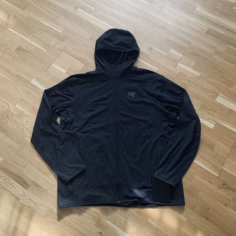 Arcteryx Kyanite LT Hoody Black XXL patagonia the north face