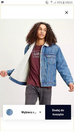 Kurtka ocieplana kożuszkiem jeans Levi's