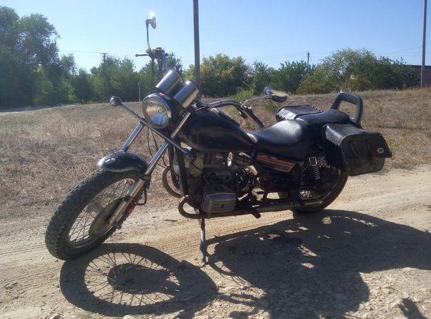 Продам мотоцикл кастом Днепр МТ 10-36