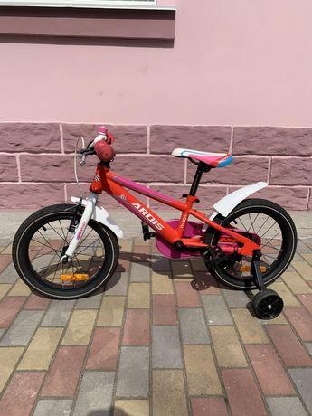 Велосипед детский Ardis Топик TOPIC 16 алюминиевый