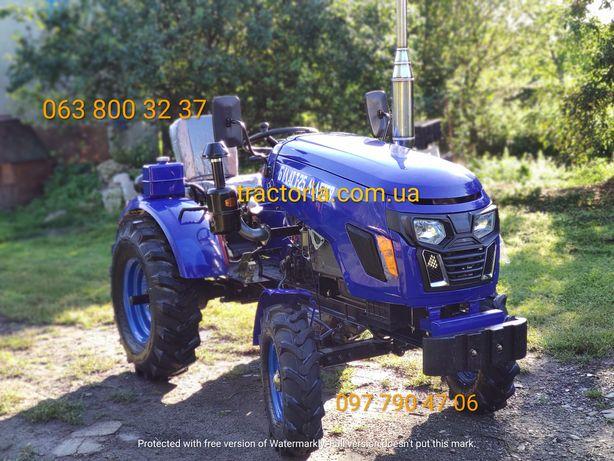 Мінітрактор Булат Т-25 New+2 ПЛУГ+ФРЕЗА+ГЕНЕРАТОР Мототрактор трактор