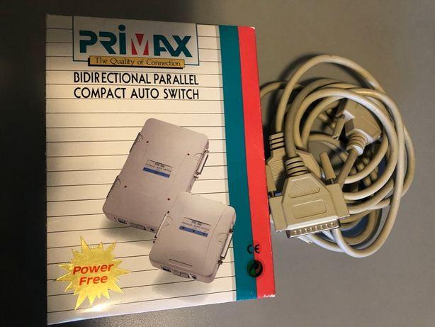 Auto Switch de 2x Porta Paralela PRIMAX