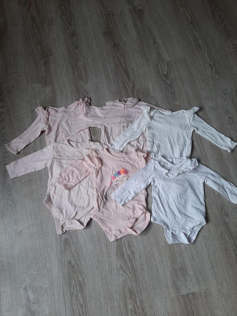 Ubrania dla dziewczynki 68