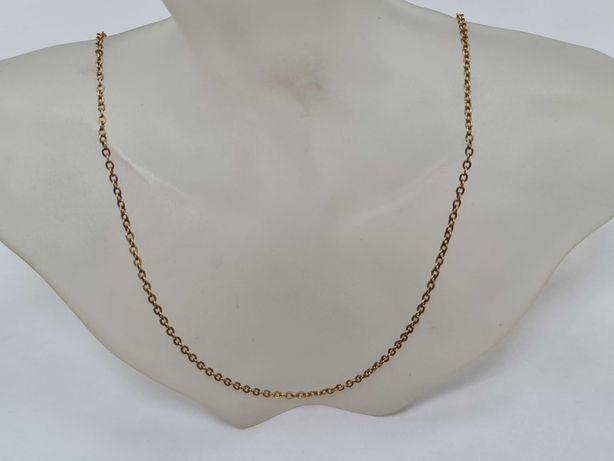 Warmet! Klasyczny złoty łańcuszek męski / damski/ 585/ 4.85 gram/ 50cm