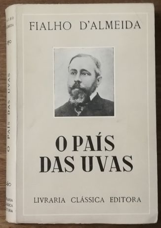 o país das uvas, fialhoo d´almeida, livraria clássica editora