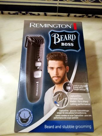 Máquina Barba Remington Beard Boss Excelente Prenda de Natal