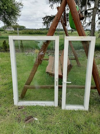 Okna drewniane 3 komplety