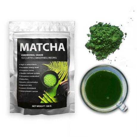 Чай Матча Ceremonial grade (Premium, Премиум), 100 г ( маття, matcha)