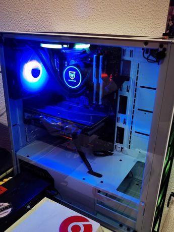 Setup Gaming Completo (c/ garantia) - RX5700, Ryzen5, 2 Ecrãs 144hz...